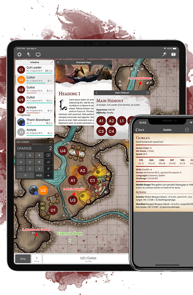 EncounterPlus D&D 5Escreenshot smaller